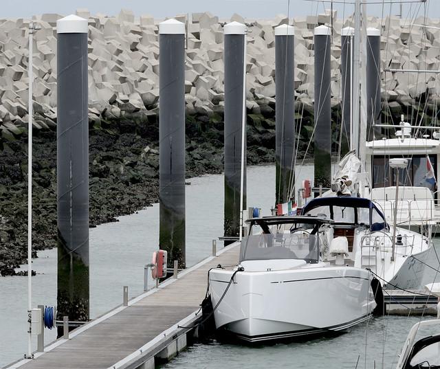 Nieuwe jachthaven van - Cadzand - new marina
