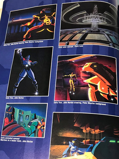 Art of Tron early concepts