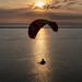 Papayankee33 posted a photo:Coucher de soleil depuis le point de vue du camping Panorama du Pyla, à quelques dizaines de mètres de la dune.. Le soleil couchant, l'océan, le banc d'Arguin, le défilé plus ou moins acrobatique des parapentes ... le rêve pour tout photographe !