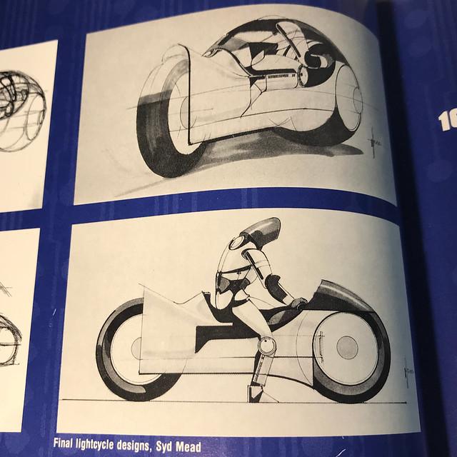 Art of Tron Lightcycles