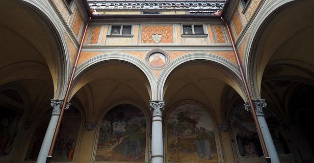 Firenze - Chiesa della S.S.Annunziata - Chiostrino dei Voti