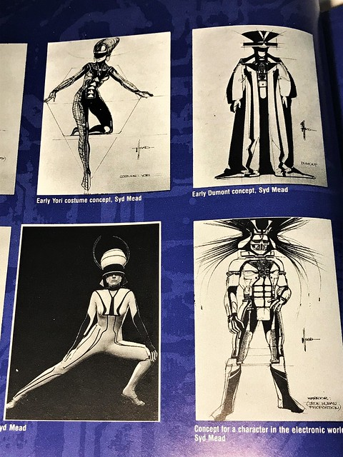 Art of Tron Syd Mead concepts