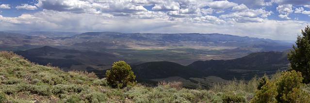 View down on Junction, Utah