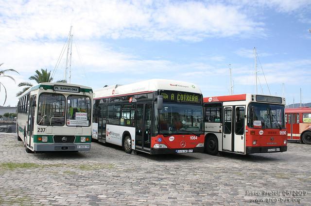 Pegaso 6038 - Mercedes O530 - Pegaso 6420
