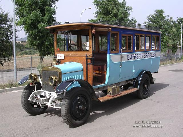 Hispano Suiza 12/15 (1909), Empresa Sagalés