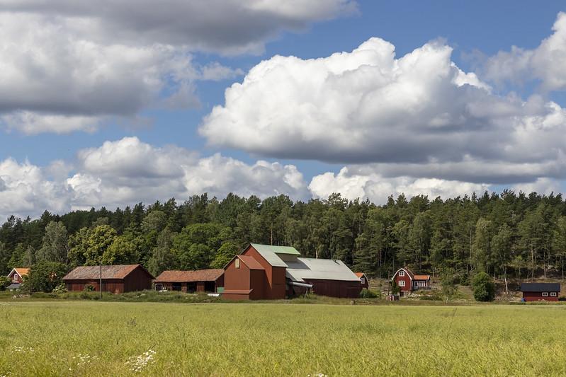 A rural setting