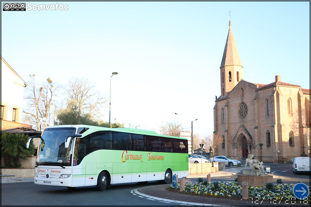 Mercedes-Benz Tourismo – Carmaux Tourisme / liO (Lignes Intermodales d'Occitanie)