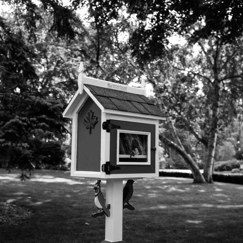 New Tiny Library is now Open