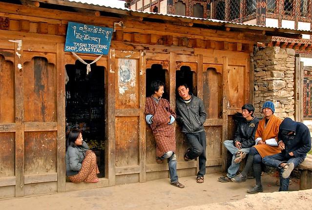 Bhutan- Gangtey village (Explore)