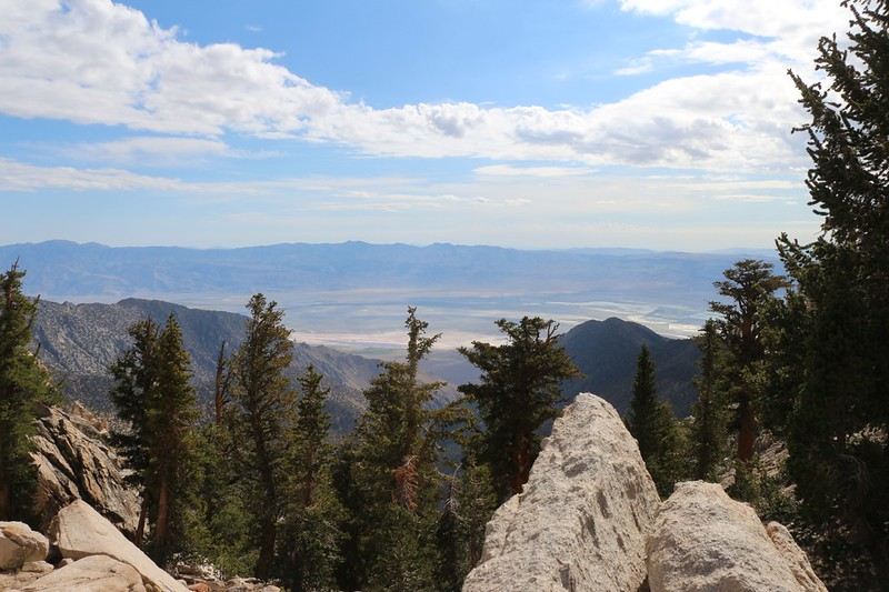 One last view to the east over the Owens Valley - we wouldn't be seeing it again this trip