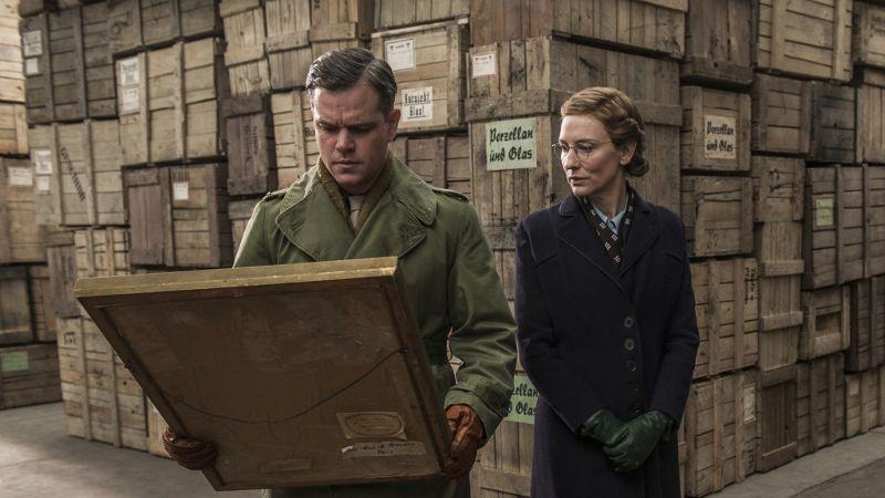 Matt Damon and Cate Blanchett