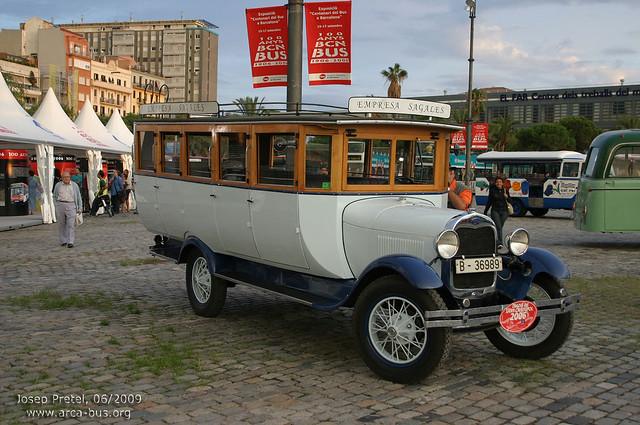 Ford AA (1929), Empresa Sagalés