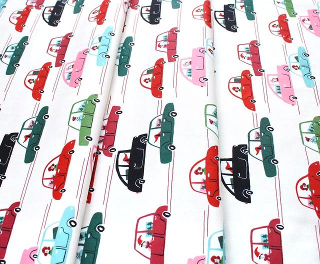 Cloud9 Fabrics Jingle Mingle 226950 Dashing Through The Snow