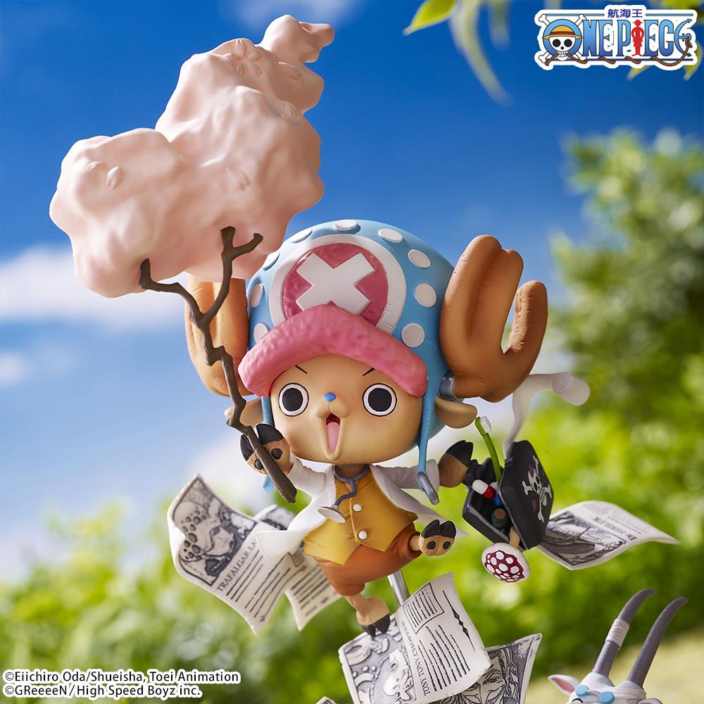 來自GReeeeN的挑戰書!PREMIUM BANDAI《航海王》特別企劃「One Piece Collaboration figure~Challenge from GReeeeN~」夢幻合作模型