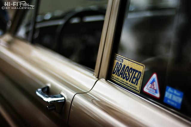 dragster sticker