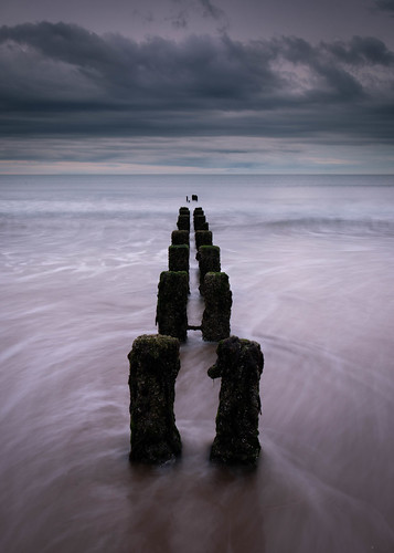 aberdeen aberdeenbeach landscape longexposure groyne scotland sea ocean outdoor outside