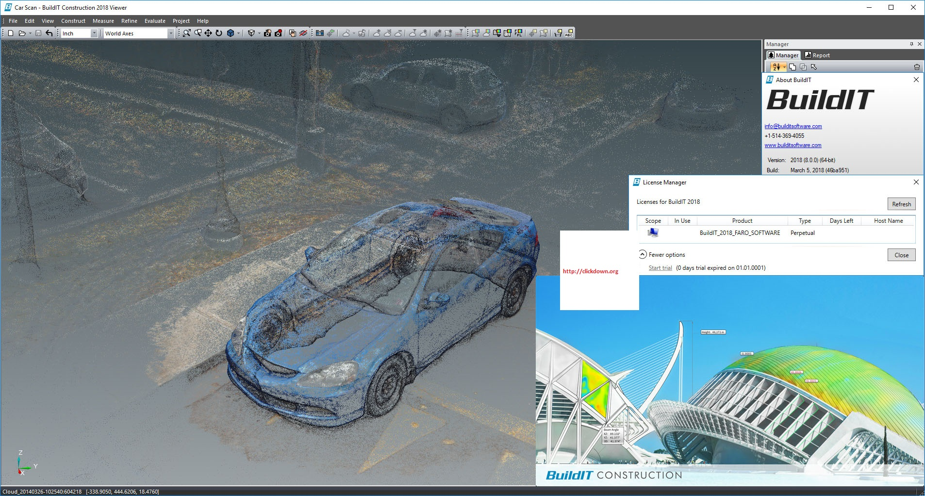 Working with FARO BuildIT Construction 2018.5 SP2 full