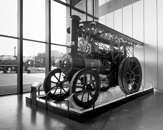 Traction Engine, Riverside Museum, Glasgow