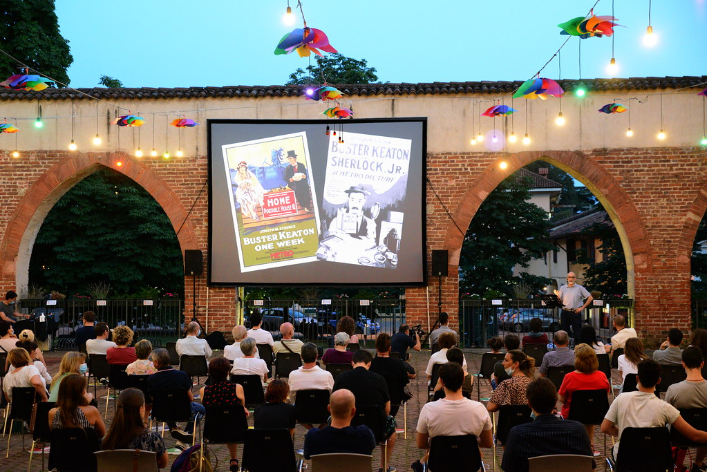 RESTATE IN CITTA' - SERATA CINEMA - BUSTER KEATON - CON ACCOMPAGNAMENTO DAL VIVO AL PIANOFORTE DI DANIELE LONGO  28 GIUGNO 2020 Foto A. Artusa