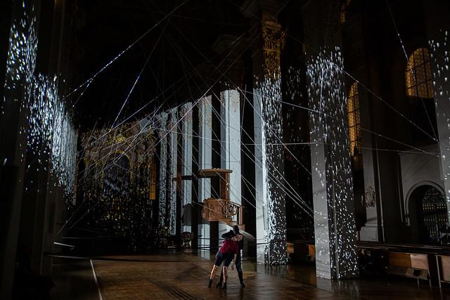 """Videoprojekt """"Shadowlight"""" Heilig Geist München, 30.06.2020"""