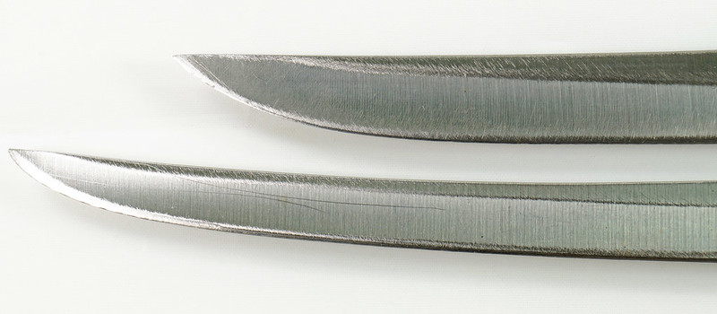 RD30591 2 Vintage Russell Green River Works USA Knives 8 Inch 179-8 & 6 inch 159-6 DSC09053