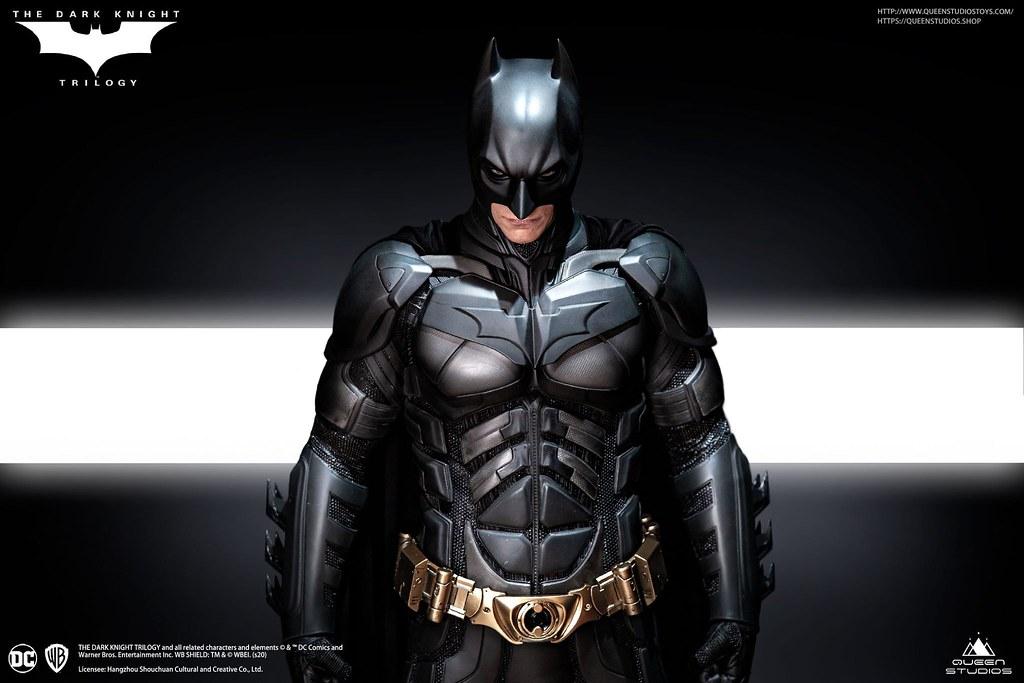Queen Studios《黑暗騎士》蝙蝠俠 (Batman) 1/3 比例全身雕像 Standard/Premium/Deluxe Edition 情報公開