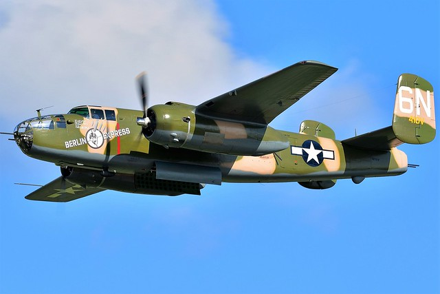 North American B-25 Mitchell bomber Berlin Express SN 43-4432 N10V USAAF