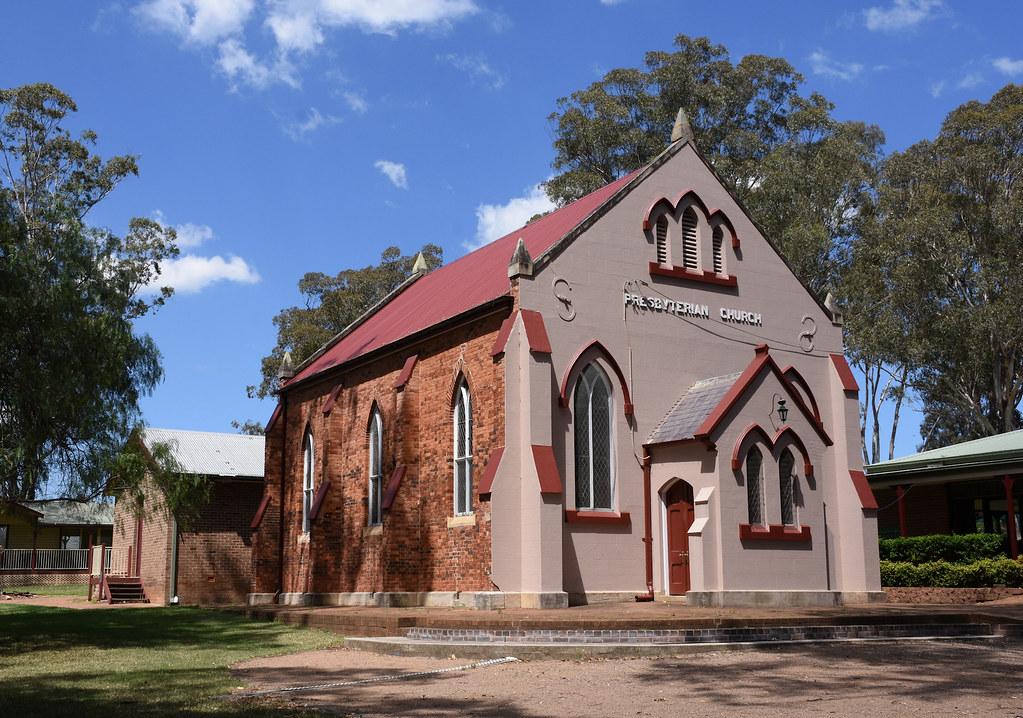 Presbyterian Church, Campbelltown, Sydney, NSW.