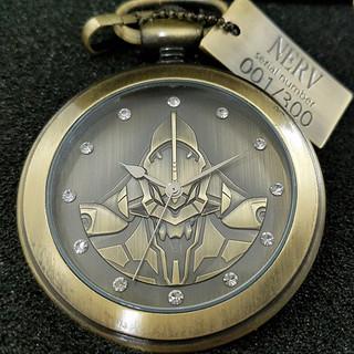 限量生產 500 個!ASAMIZU COMPANY《福音戰士新劇場版》EVANGELION 初號機懷錶(エヴァンゲリオン懐中時計【初号機】)
