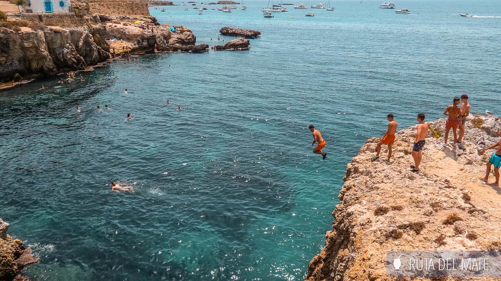 Calas de la Isla de Tabarca