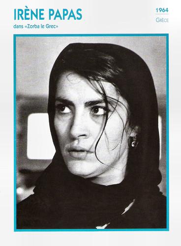 Irene Papas in Alexis Zorbas (1964)