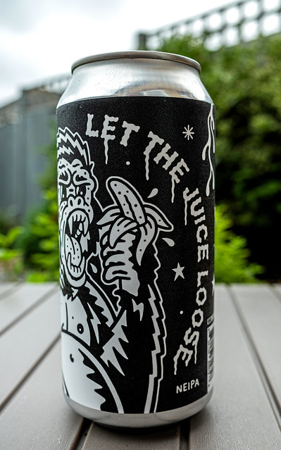 Can of let The Juice Loose (New England IPA - 6.5%) Black Iris Brewery - Nottingham UK (Ricoh GR III Compact) (1 of 1)