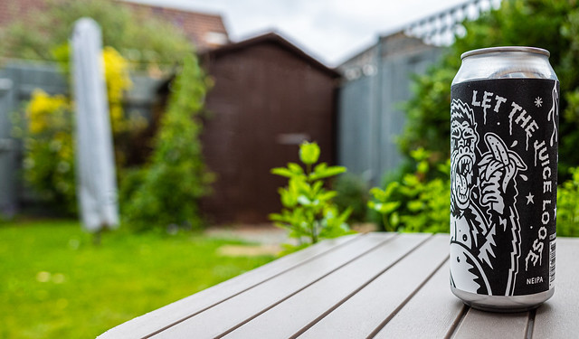 A Can of UK Craft Beer ( Let the Juice Loose - 6.5% NEIPA)  (Ricoh GR III Compact) (1 of 1)