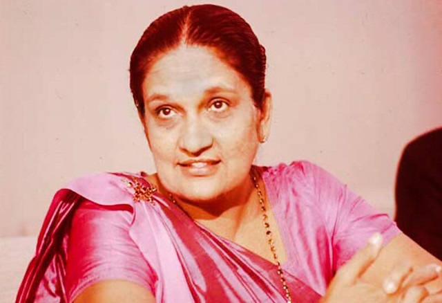 First Woman Prime Minister of the world Mrs. Srimavo Bandranaike, 1960