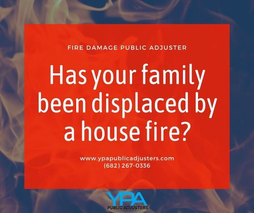 Has your family been displaced by a house fire? Call your fire...