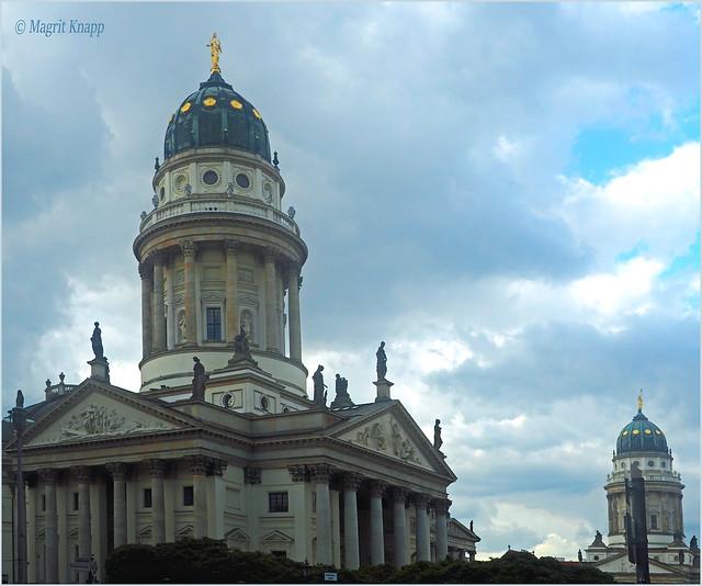 Deutscher und Französischer Dom auf dem Gendarmen-Markt