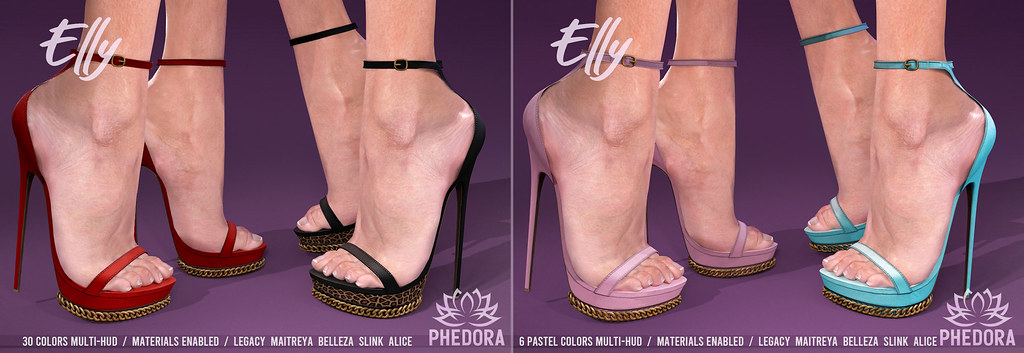 """Phedora for Kinky Event ~ """"Elly"""" Heels ♥"""