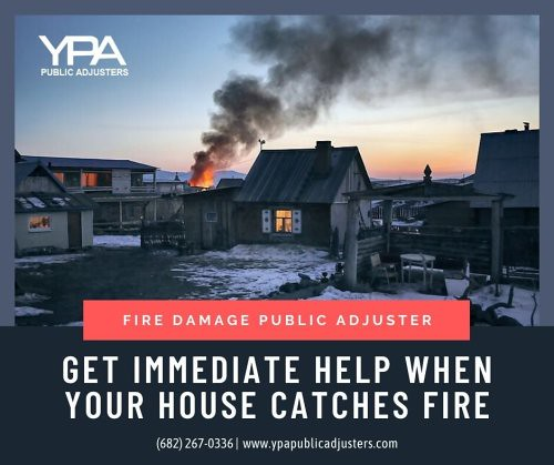 Get immediate help when your house catches a fire! Fire damage...