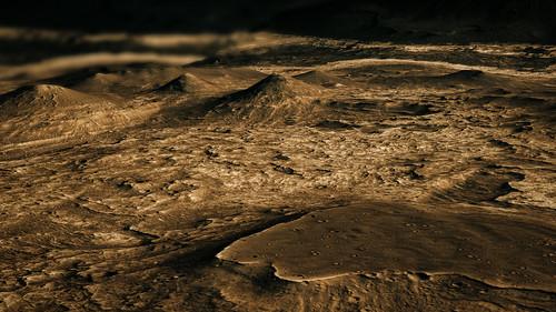 Ius Chasma view - Mars