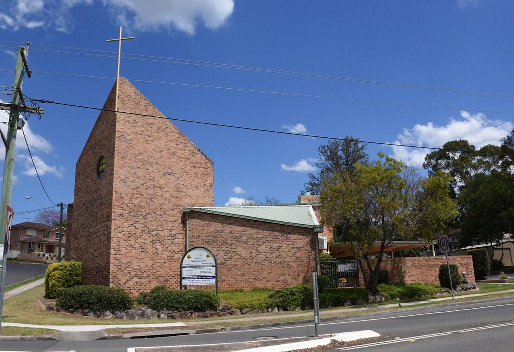 Baptist Church, Campbelltown, Sydney, NSW.