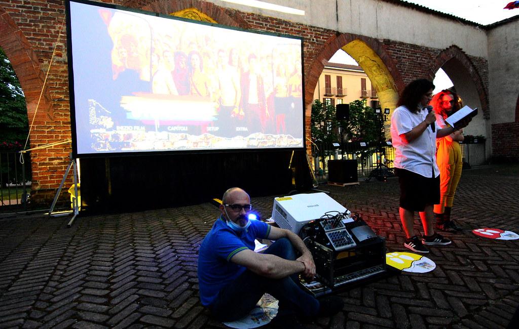 RESTATE IN CITTA' - SERATA CINEMA - STONEWALL - 05 LUGLIO 2020  Foto A. Artusa