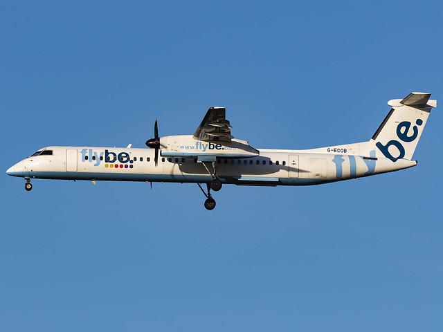Flybe | Bombardier DHC-8-402Q Dash 8 | G-ECOB