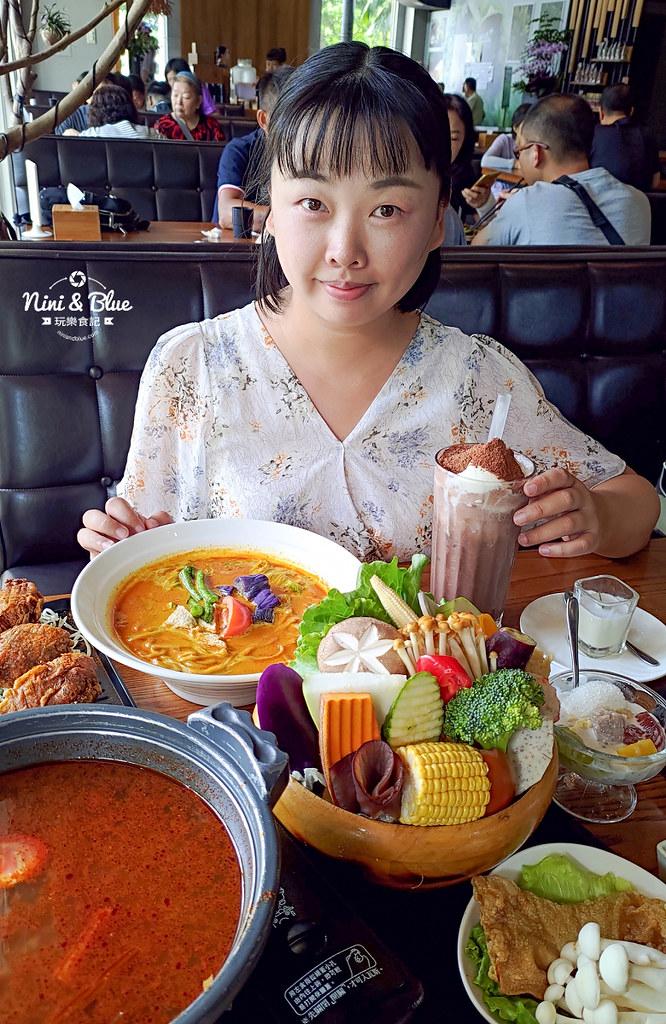 熱浪島 台中素食蔬食 南洋 叻沙麵 沙坑38