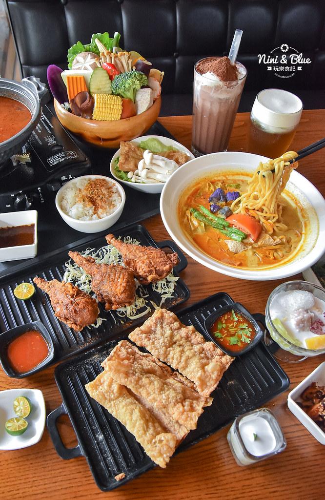 熱浪島 台中素食蔬食 南洋 叻沙麵 沙坑28