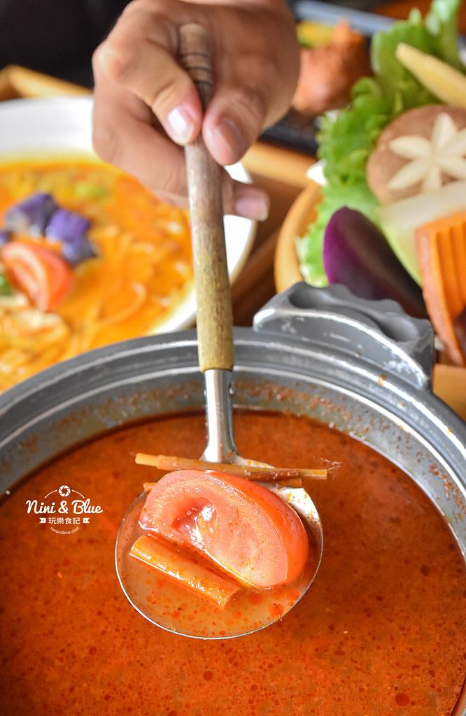 熱浪島 台中素食蔬食 南洋 叻沙麵 沙坑26