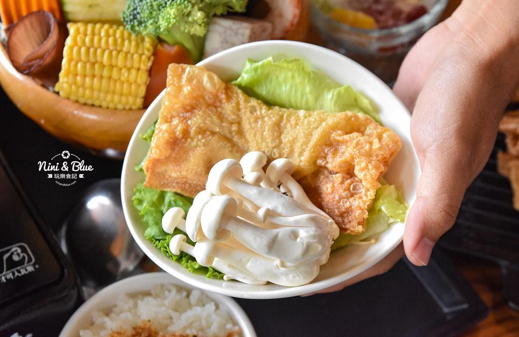 熱浪島 台中素食蔬食 南洋 叻沙麵 沙坑23
