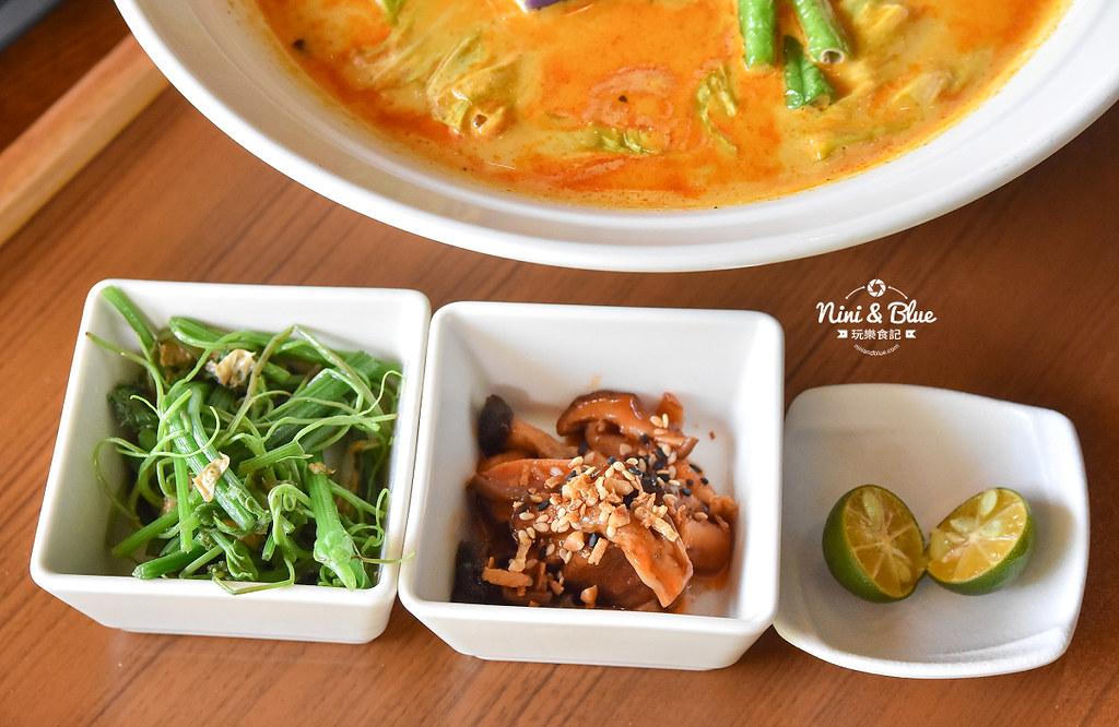 熱浪島 台中素食蔬食 南洋 叻沙麵 沙坑16