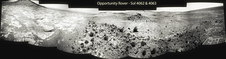 Opportunity Rover - Sol 4062 & 4063 Navcam Mosaic | by Processing Planetary Images & Enhancements For Fun