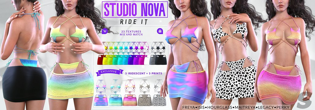 [StudioNova] Ride It Set – ♥