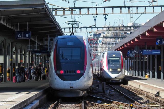 TGV LYRIA TGV 4724 + TGV 4728